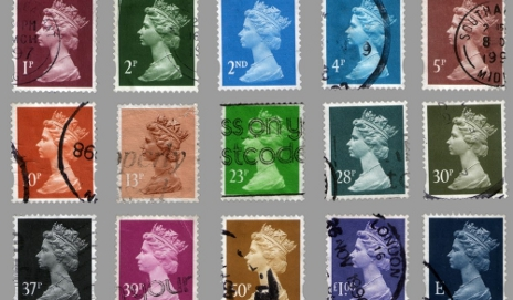 Selection of different stamps