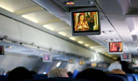 In-flight entertainment screens