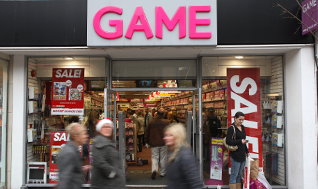 Store front of Game