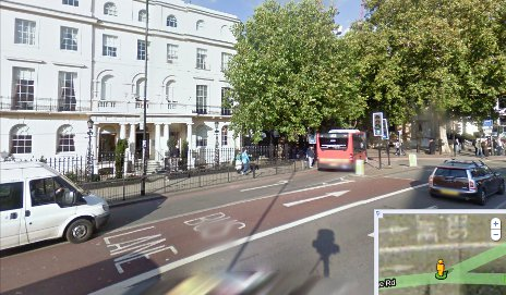 Which? London offices on Google Street View