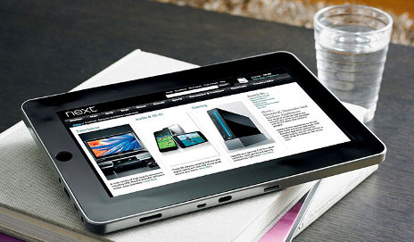 Next 10-inch Tablet on table