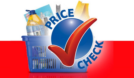 Tesco price check logo