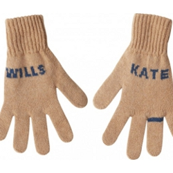 Wills and Kate knitted gloves