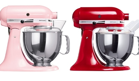 Kitchenaid's Artisan stand mixer