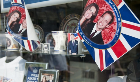 Royal Wedding memorabilia