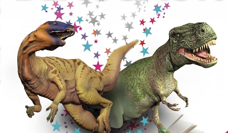 Cover image of dinosaurs from Dorling Kindersley augmented reality book