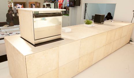 The Petra kitchen from TM Italia