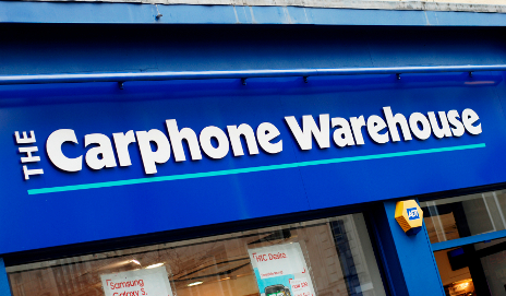 Carphone Warehouse store front