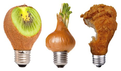 Food as bulbs