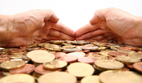 hands grabbing money shutterstock_1364005