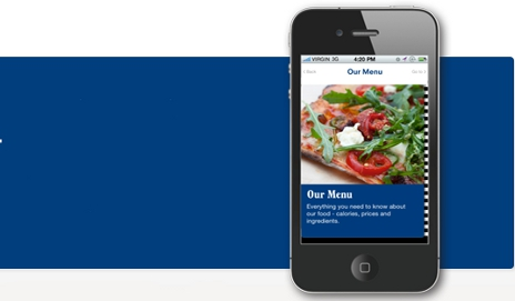 PizzaExpress iPhone app