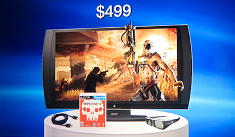 Sony's PlayStation 3D Display