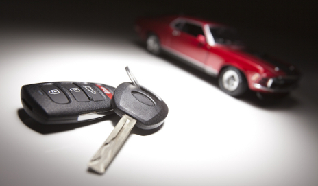 Car and car keys