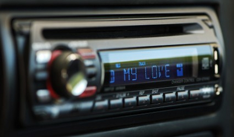 In-car cd player