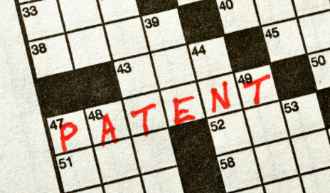 Patent on crossword