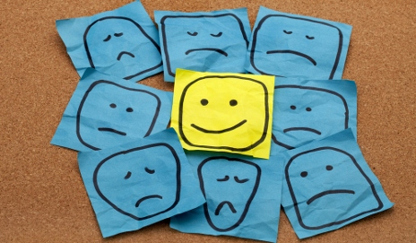 Smiley post-its
