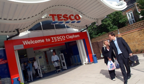 Tesco superstore Clapham