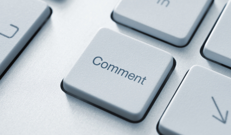 Comment key on keyboard