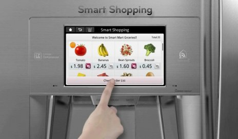 LG's smart fridge