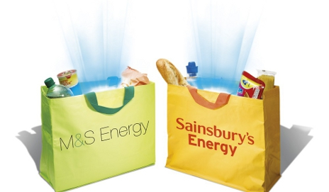 M&S and Sainsbury's Energy bags