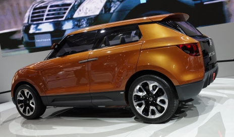 Brown SsanTong XIV-1 concept car
