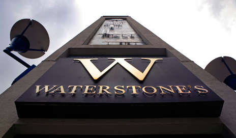 Waterstone's sign