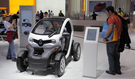 Twizy car by Renault