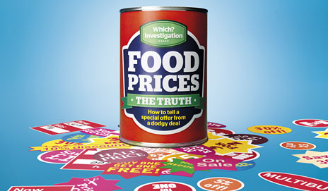 Food prices can