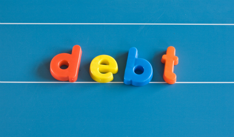 Debt in fridge magnets