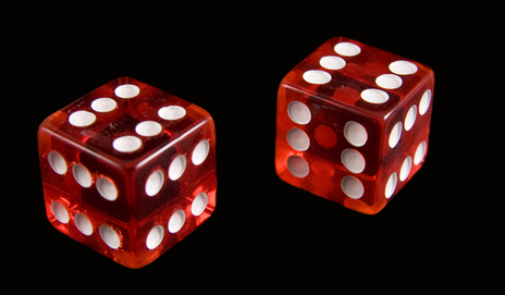 dice with six on every side
