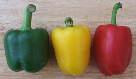 Traffic light peppers