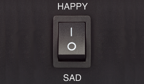 Happy and sad switch