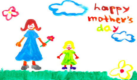 A home made Mother's Day card