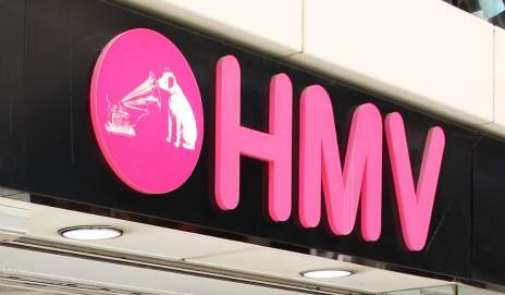 HMV shop logo