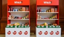 Which? supermarket shelves