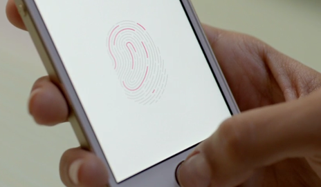 iPhone5s fingerprint scanner