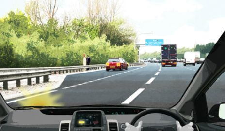 Smart motorway, credit Highways Agency