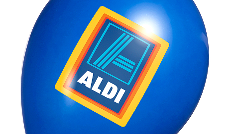 Aldi balloon