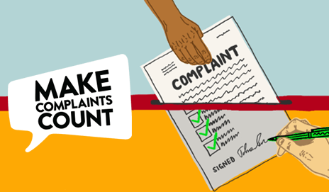Make complaints count illustration