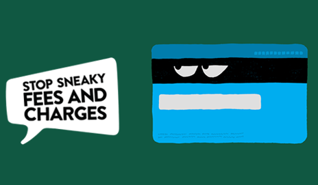 Sneaky fees illustration