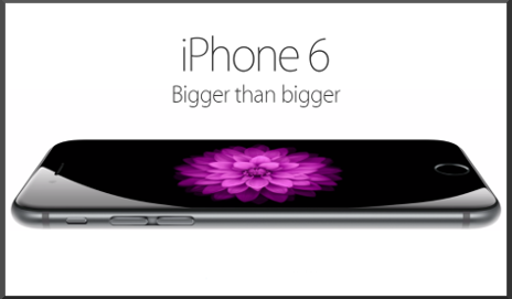 iPhone 6 'bigger than bigger'