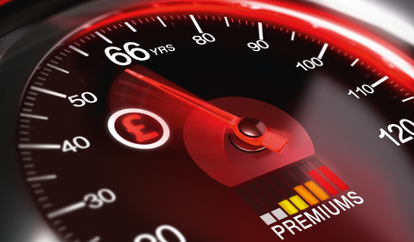 Premiums speedometer