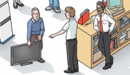 Cartoon of shop floor