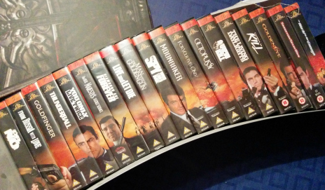 James Bond boxset