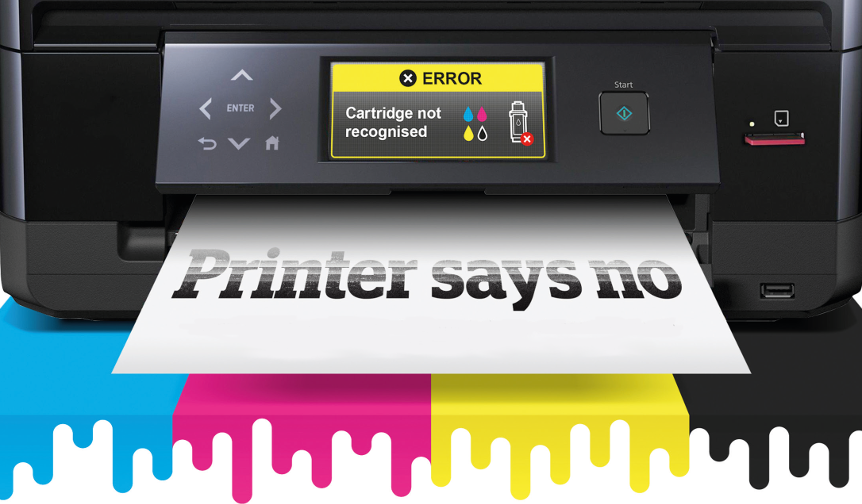 Has your printer stopped accepting third-party ink cartridges