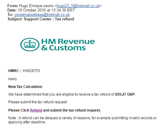 Update we busted another council tax refund scam which conversation hmrc scam spiritdancerdesigns Images
