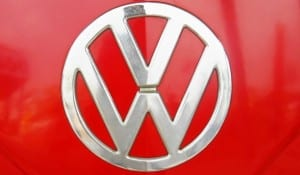 VW red logo
