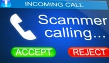 scammer call