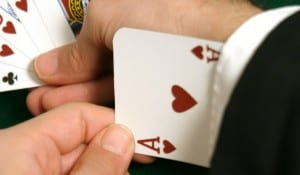 Card trick, scams