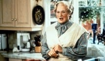 Robin Williams in Mrs Doubtfire